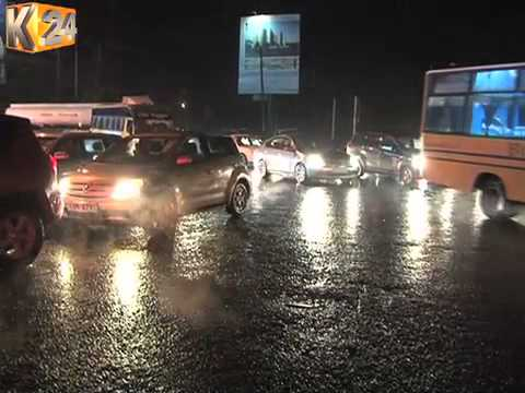 Nairobi Residents On The Receiving End Of Heavy Downpour, Floods