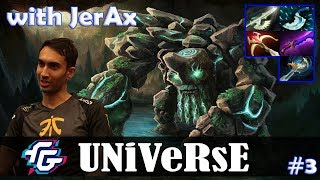 Universe - Tiny MID   with JerAx (Skywrath Mage)   vs N0tail (Axe)   Dota 2 Pro MMR Gameplay #3