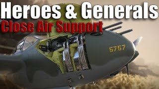 Close Air Support Tips & Tactics - HEROES & GENERALS - Free To Play
