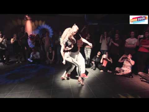 Bruno + Audrey - Dutch International Zouk Congress 2015 -  Demo 1