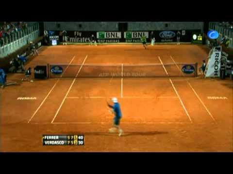 Nadal derrota al italiano Fognini y avanza a octavos en Roma