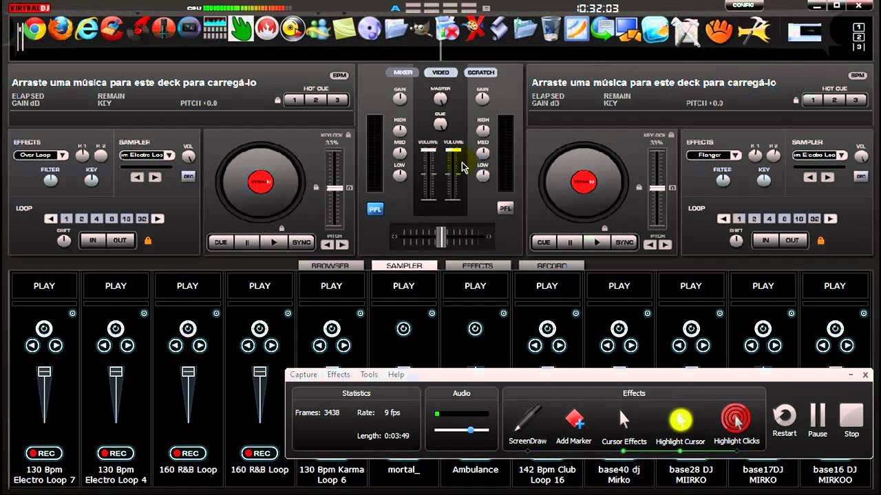 virtual dj sampler free download for pc