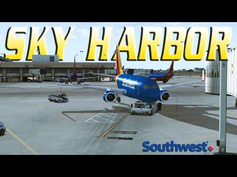 FSX [HD] Southwest Airlines   737-700   Phoenix Departure