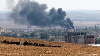 موفدة اخبار الآن: داعش ارسل تعزيزات إلى عين العرب كوباني وسط اشتباكات متقطعة - أخبار الآن