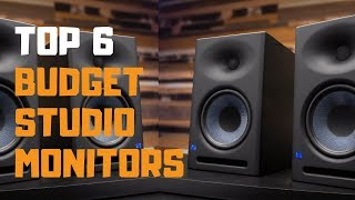 Best Budget Studio Monitors in 2019 - Top 6 Budget Studio Monitors Review
