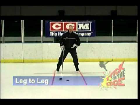 Уроки хоккея с шайбой - видео