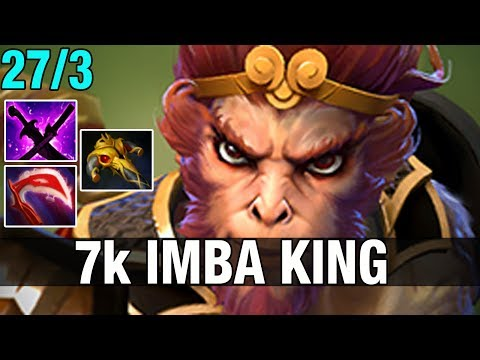 7K IMBA KING - BabyKnight 7.5K MMR Plays Monkey King - Dota 2