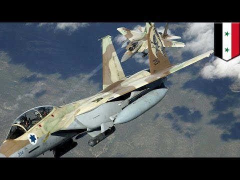 Israel joins in bombing of Syria: IDF jets hit 'Hezbollah' targets in Damascus and Dimas