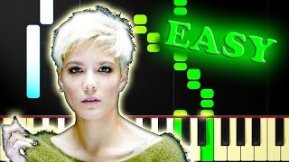 Download Lagu HALSEY - BAD AT LOVE - Easy Piano Tutorial Gratis STAFABAND