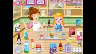 Cooking Game New Year Confetti Cake for Girls
