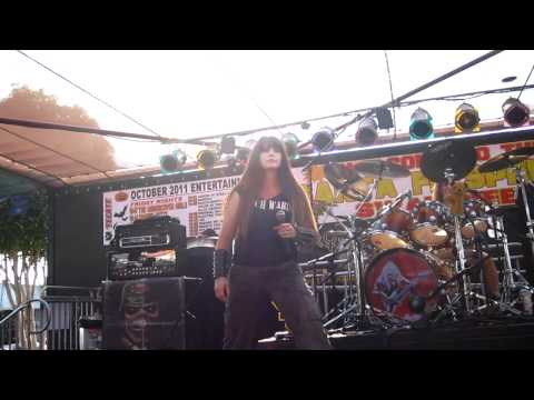 The Iron Maidens - Number Of The Beast (LIVE @ Santa Fe Springs Swap Meet 9-17-11)