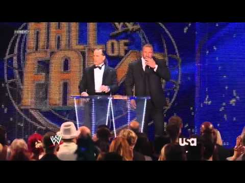 WWE Hall Of Fame 2012 Full Show