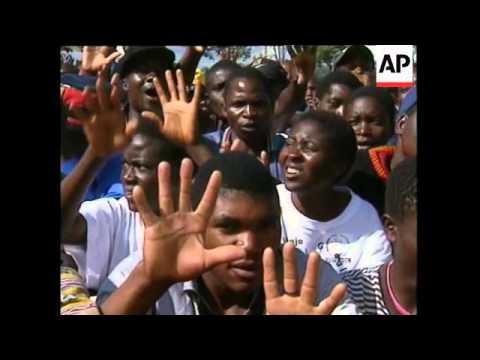 ZIMBABWE: MDC RALLY TURNS VIOLENT