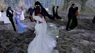 Boo and Clyde Second Life Wedding - 2.11.17