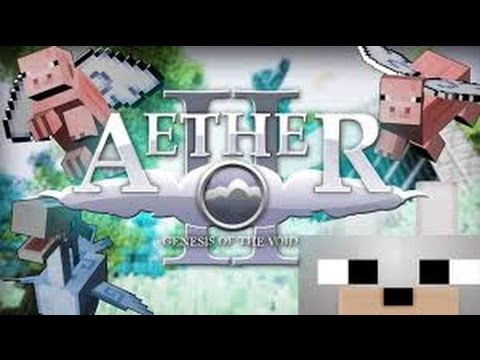 Lets Play Minecraft Aether Mod ~ Creative Review