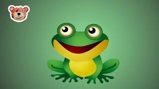 La rana cantando debajo del agua - Learn spanish songs