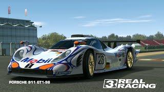 PORSCHE 911 GT1-98/TEST/REAL RACING 3