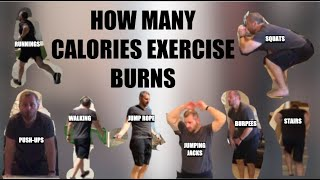 How Many Calories Exercise Burns