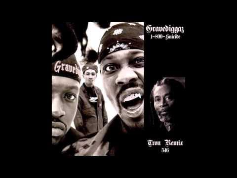 Gravediggaz - 1-800-Suicide (Tron Remix)