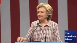 Hillary's Spittle Still Draining Into Lungs-- Getting Infected 3rd Stage Parkinson's Swallow Probs
