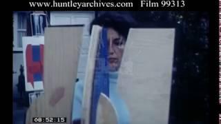 Artist At Work, 1960s - Film 99313