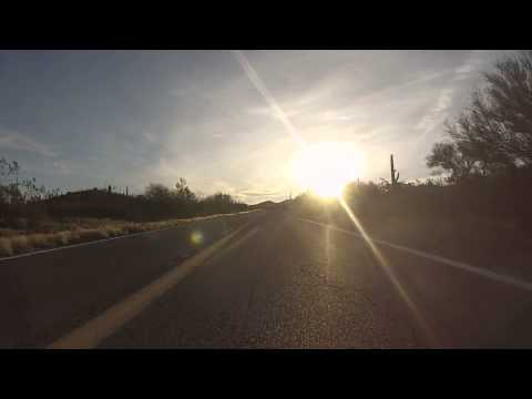 East to Gu-Achi Trading Post on AZ SR 86 Highway, 21 February 2015, Arizona, GP020151