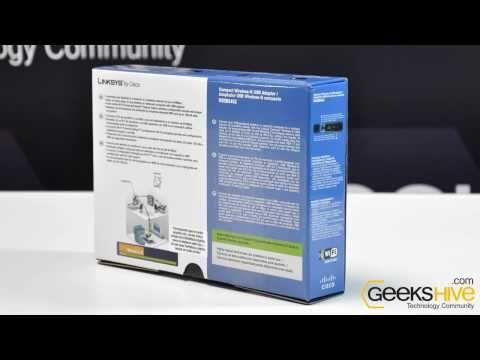 Adaptador USB Wireless-G WUSB54GC-LA Linksys - review by www.geekshive.com (Español)