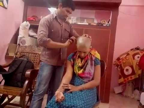 Indian Home Made Young Girl Headshave video