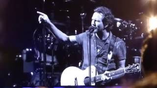 Off He Goes - Pearl Jam 2016.08.22 Chicago Wrigley 2