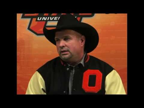 Garth Brooks discusses passion for OSU