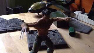 Wolverine vs Sabretooth stop motion ( Lobezno vs Dientes de sable )