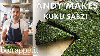 Celebrate the Persian New Year with Herby Kuku Sabzi   From the Test Kitchen   Bon Appetit