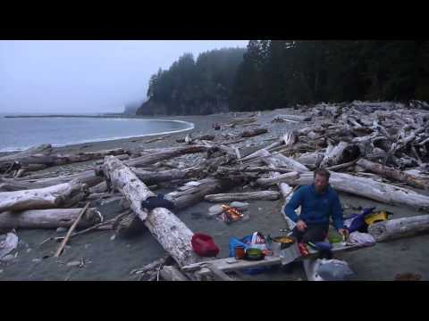 Vancouver Island Sea Kayak Honeymoon Circumnavigation: