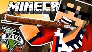 Minecraft: GRAND THEFT AUTO V | KILLING AN ADMIN!!