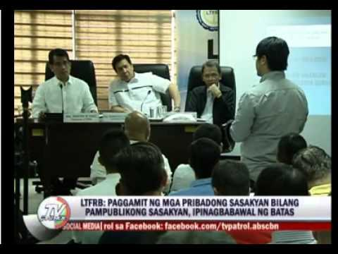 Uber LTFRB Philippines hearing update Nov 24,2014