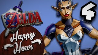 The Legend of Zelda Ocarina of Time - SNEAKY BREAKY - Part 4 - Happy Hour