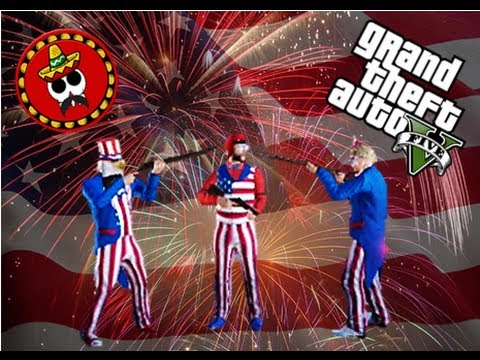 Gta Online Mexican Mayhem - Independence Day Dlc, Firework Celebration, freedom, Bmx Fun, Mr Bean video