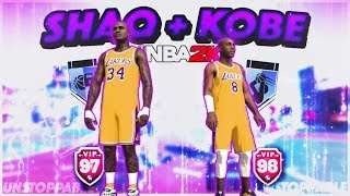 DEMIGOD KOBE BUILD DOMINATES PARK with SHAQ - NBA2K19