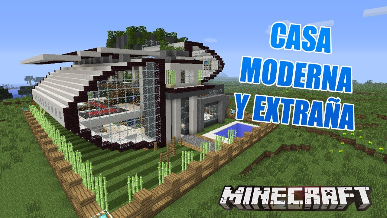 Minecraft casa moderna y extra a casas de suscriptores for Minecraft videos casas
