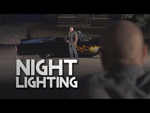 Film Scene - Lighting a Night Car Reveal