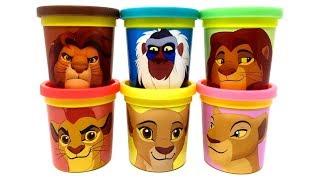 The Lion King & The Lion Guard Play-Doh Can Heads & Toys Kion Kiara Simba Nala Rafiki Mufasa
