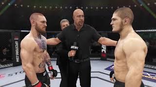 Conor McGregor vs. Khabib Nurmagomedov UFC3 20th time