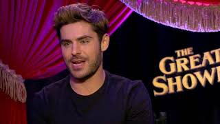 How Did Zac Efron and Zendaya Train for Their High-Flying Aerial Number in Greatest Showman?