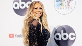 Mariah Carey Backstage at the #AMAs | 2018 American Music Awards