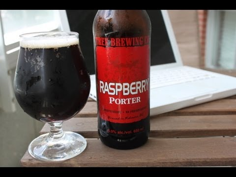 Beer Review:Tree Brewing Co - Rasberry Porter (Review #142)