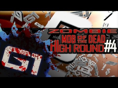 BO2 ZOMBIE MOB OF THE DEAD GLITCH HIGH ROUND #4 - GERMAN PS3/XBOX360