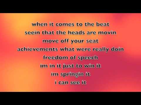 Livin' On A High Wire (lyrics) - Lemonade Mouth