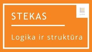 4 Logika ir struktūra buhalterinės apskaitos programoje STEKAS apskaita | LITS
