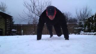 90 Day Push - day 26 - winter is coming back!