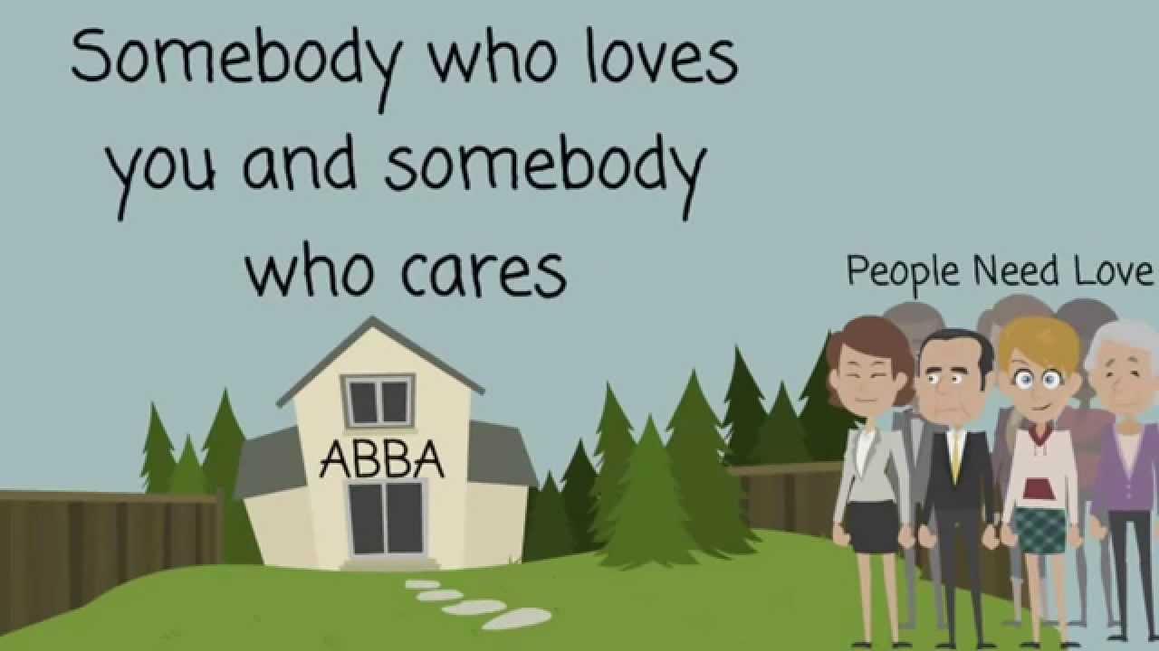 ABBA - People Need Love - Lyrics - YouTube